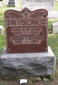 WYSONG, EDWARD C. - Preble County, Ohio   EDWARD C. WYSONG - Ohio Gravestone Photos