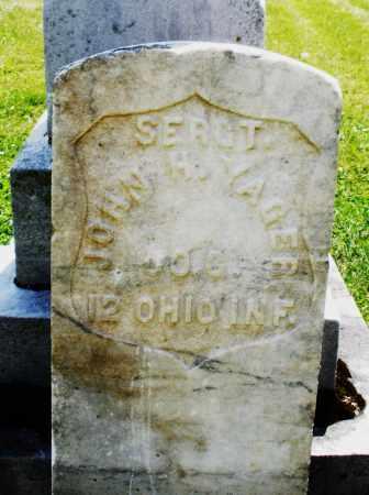 YAGER, JOHN H. - Preble County, Ohio   JOHN H. YAGER - Ohio Gravestone Photos