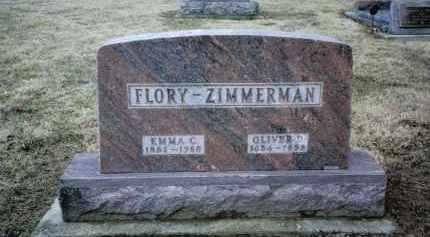 ZIMMERMAN, OLIVER D. - Preble County, Ohio | OLIVER D. ZIMMERMAN - Ohio Gravestone Photos