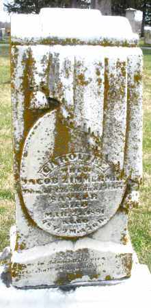 ZIMMERSON, CAROLINE - Preble County, Ohio | CAROLINE ZIMMERSON - Ohio Gravestone Photos