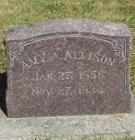 ALLISON, AMY A. - Putnam County, Ohio | AMY A. ALLISON - Ohio Gravestone Photos
