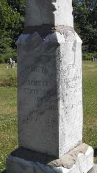 SACKETT ATKINSON, ELIZABETH - Putnam County, Ohio   ELIZABETH SACKETT ATKINSON - Ohio Gravestone Photos