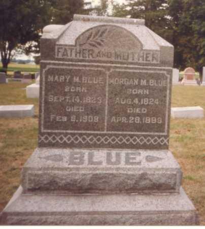 BLUE, MORGAN M. - Putnam County, Ohio | MORGAN M. BLUE - Ohio Gravestone Photos