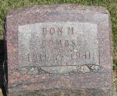 COMBS, DON M. - Putnam County, Ohio | DON M. COMBS - Ohio Gravestone Photos