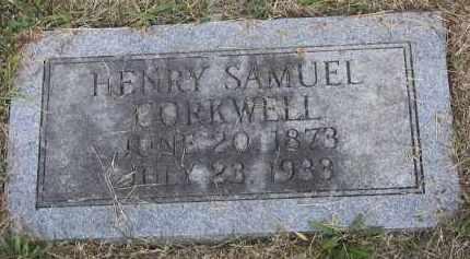 CORKWELL, HENRY SAMUEL - Putnam County, Ohio   HENRY SAMUEL CORKWELL - Ohio Gravestone Photos