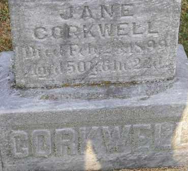 CORKWELL, JANE - Putnam County, Ohio   JANE CORKWELL - Ohio Gravestone Photos