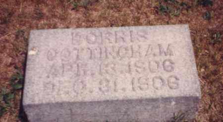 COTTINGHAM, DORRIS - Putnam County, Ohio   DORRIS COTTINGHAM - Ohio Gravestone Photos