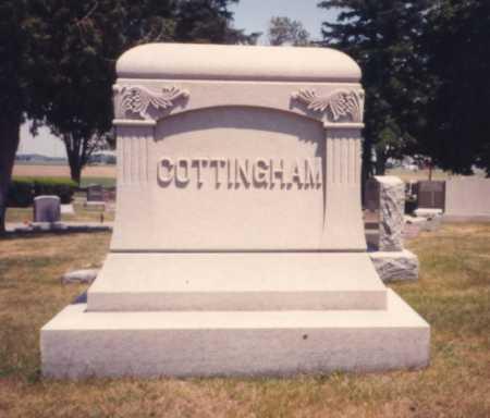 COTTINGHAM, MONUMENT - Putnam County, Ohio | MONUMENT COTTINGHAM - Ohio Gravestone Photos