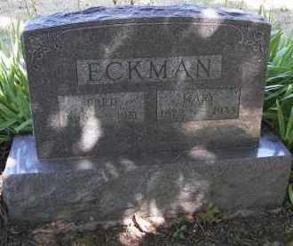 ECKMAN, FRED - Putnam County, Ohio | FRED ECKMAN - Ohio Gravestone Photos