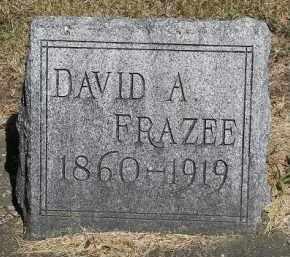 FRAZEE, DAVID A - Putnam County, Ohio | DAVID A FRAZEE - Ohio Gravestone Photos