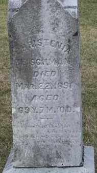 HEISCHMAN, CHRISTENIA - Putnam County, Ohio | CHRISTENIA HEISCHMAN - Ohio Gravestone Photos