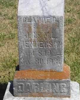 HENDERSON, CLAUDE C. - Putnam County, Ohio | CLAUDE C. HENDERSON - Ohio Gravestone Photos