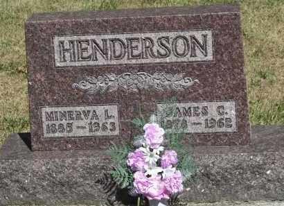HENDERSON, MINERVA L - Putnam County, Ohio   MINERVA L HENDERSON - Ohio Gravestone Photos