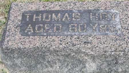 HOY, THOMAS - Putnam County, Ohio | THOMAS HOY - Ohio Gravestone Photos