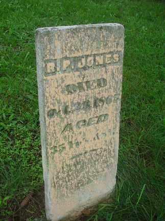 JONES, RUFUS PHILO - Putnam County, Ohio | RUFUS PHILO JONES - Ohio Gravestone Photos
