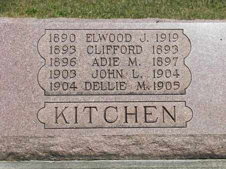 KITCHEN, ADIE M - Putnam County, Ohio | ADIE M KITCHEN - Ohio Gravestone Photos