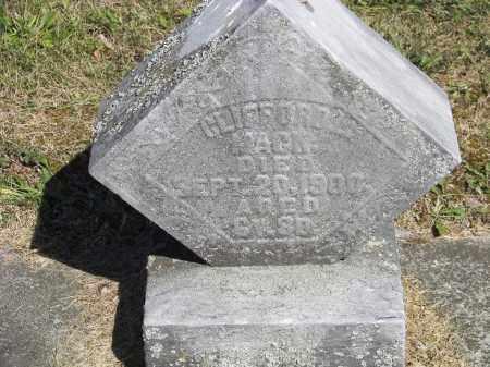 MACK, CLIFFORD - Putnam County, Ohio | CLIFFORD MACK - Ohio Gravestone Photos