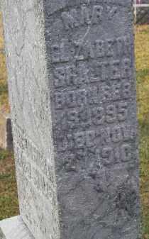 SHALTER, MARY ELIZABETH - Putnam County, Ohio | MARY ELIZABETH SHALTER - Ohio Gravestone Photos