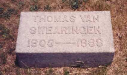 VAN SWEARINGEN, THOMAS - Putnam County, Ohio | THOMAS VAN SWEARINGEN - Ohio Gravestone Photos