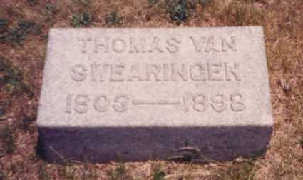 VAN SWEARINGEN, THOMAS - Putnam County, Ohio | THOMAS VAN SWEARINGEN - Ohio Gravestone Photos