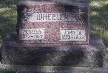 WHEELER, ROSELLA - Putnam County, Ohio | ROSELLA WHEELER - Ohio Gravestone Photos