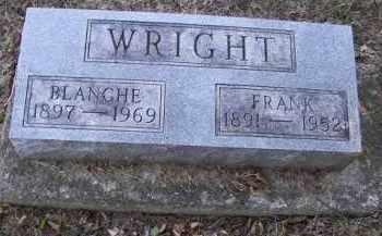 WRIGHT, BLANCHE - Putnam County, Ohio | BLANCHE WRIGHT - Ohio Gravestone Photos