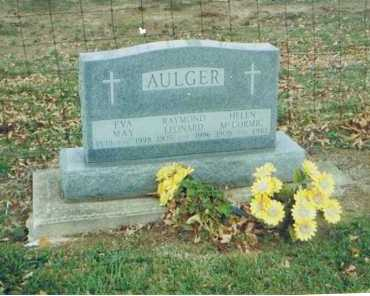AULGER, RAYMOND LEONARD - Richland County, Ohio | RAYMOND LEONARD AULGER - Ohio Gravestone Photos