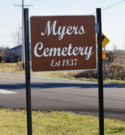A, CEMETERY SIGN - Richland County, Ohio   CEMETERY SIGN A - Ohio Gravestone Photos