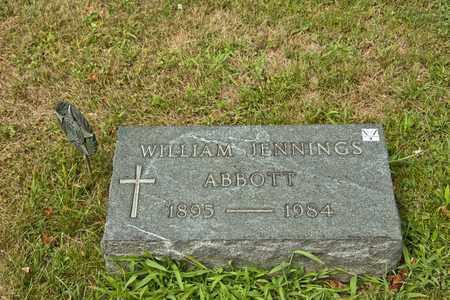 ABBOTT, WILLIAM JENNINGS - Richland County, Ohio | WILLIAM JENNINGS ABBOTT - Ohio Gravestone Photos