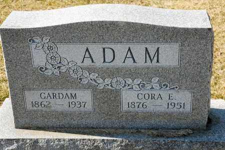 ADAM, GARDAM - Richland County, Ohio   GARDAM ADAM - Ohio Gravestone Photos