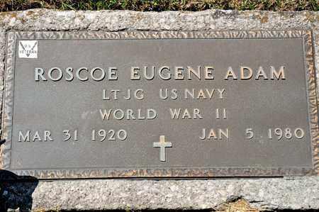 ADAM, ROSCOE EUGENE - Richland County, Ohio | ROSCOE EUGENE ADAM - Ohio Gravestone Photos