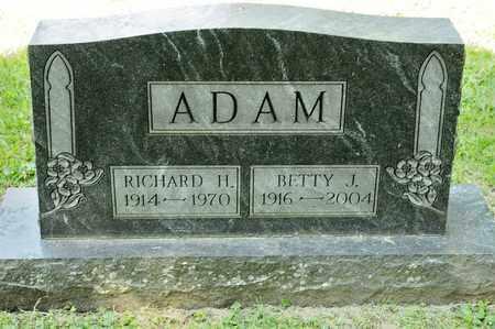 ADAM, RICHARD H - Richland County, Ohio | RICHARD H ADAM - Ohio Gravestone Photos