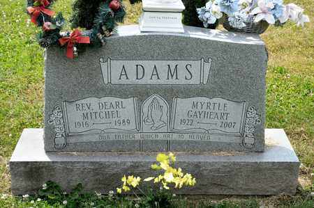ADAMS, MYRTLE - Richland County, Ohio   MYRTLE ADAMS - Ohio Gravestone Photos