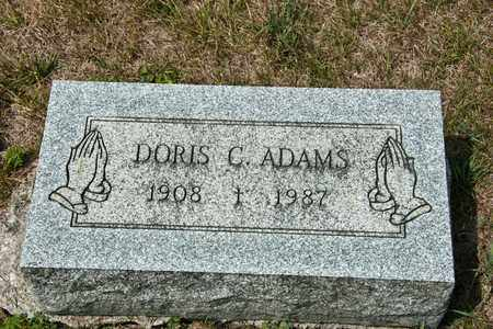 ADAMS, DORIS C - Richland County, Ohio   DORIS C ADAMS - Ohio Gravestone Photos