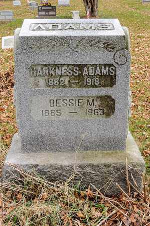 ADAMS, BESSIE M - Richland County, Ohio | BESSIE M ADAMS - Ohio Gravestone Photos