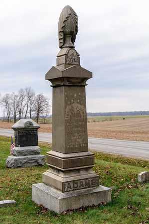 ADAMS, ISAAC - Richland County, Ohio | ISAAC ADAMS - Ohio Gravestone Photos