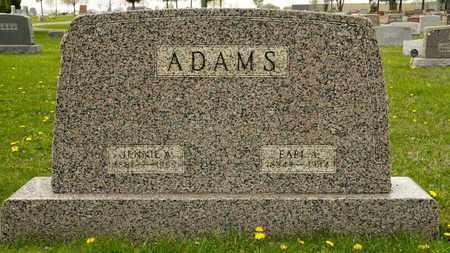 ADAMS, JENNIE A - Richland County, Ohio | JENNIE A ADAMS - Ohio Gravestone Photos