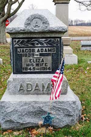 ADAMS, JACOB - Richland County, Ohio | JACOB ADAMS - Ohio Gravestone Photos