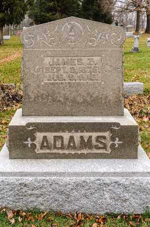 ADAMS, JAMES Z - Richland County, Ohio   JAMES Z ADAMS - Ohio Gravestone Photos