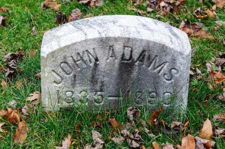 ADAMS, JOHN - Richland County, Ohio   JOHN ADAMS - Ohio Gravestone Photos