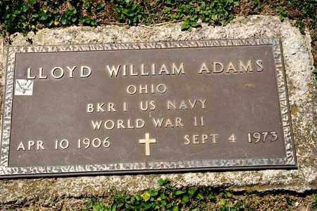 ADAMS, LLOYD WILLIAM - Richland County, Ohio | LLOYD WILLIAM ADAMS - Ohio Gravestone Photos
