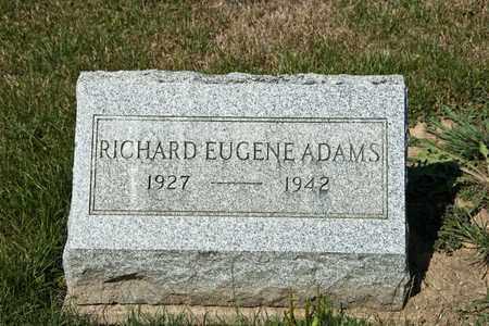 ADAMS, RICHARD EUGENE - Richland County, Ohio | RICHARD EUGENE ADAMS - Ohio Gravestone Photos