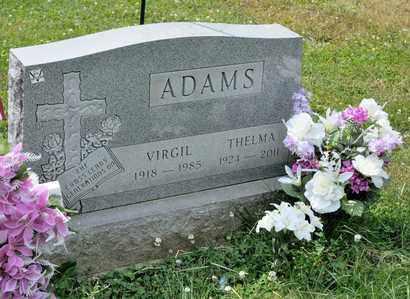 ADAMS, VIRGIL - Richland County, Ohio | VIRGIL ADAMS - Ohio Gravestone Photos