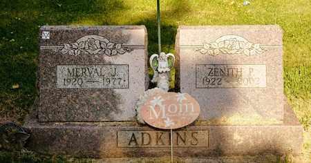 ADKINS, MERVAL J - Richland County, Ohio | MERVAL J ADKINS - Ohio Gravestone Photos