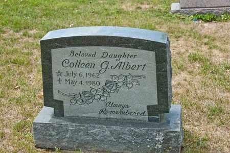 ALBERT, COLLEEN G - Richland County, Ohio   COLLEEN G ALBERT - Ohio Gravestone Photos