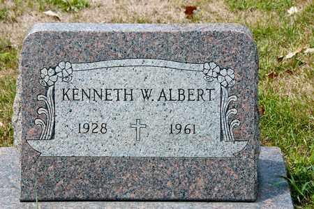 ALBERT, KENNETH W - Richland County, Ohio | KENNETH W ALBERT - Ohio Gravestone Photos