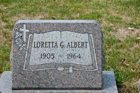 ALBERT, LORETTA G - Richland County, Ohio | LORETTA G ALBERT - Ohio Gravestone Photos