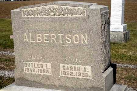 ALBERTSON, SARAH A - Richland County, Ohio | SARAH A ALBERTSON - Ohio Gravestone Photos