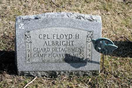 ALBRIGHT, FLOYD H - Richland County, Ohio   FLOYD H ALBRIGHT - Ohio Gravestone Photos