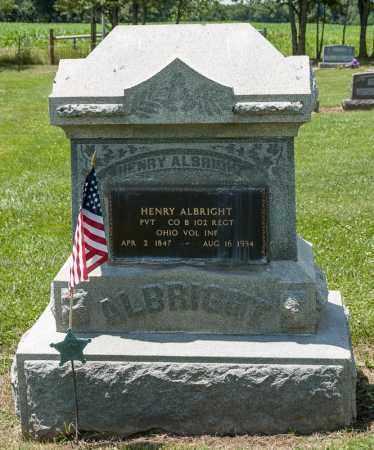 ALBRIGHT, HENRY - Richland County, Ohio | HENRY ALBRIGHT - Ohio Gravestone Photos